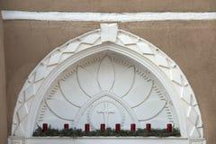 旧金山de阿西西教会Taos新墨西哥 库存图片
