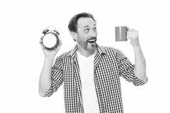 早晨习性 控制时间 检查时间 保存的时间的技巧 自我训练 : ?? 库存图片