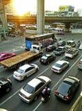 早晨交通在泰国 库存图片