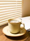 早晨咖啡。 免版税库存照片
