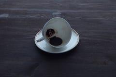 早晨咖啡末端 免版税图库摄影