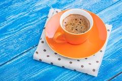 早晨咖啡杯 免版税库存照片
