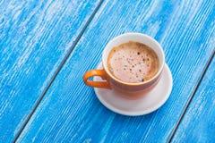 早晨咖啡杯 库存照片
