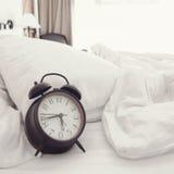 早晨在卧室 免版税库存照片