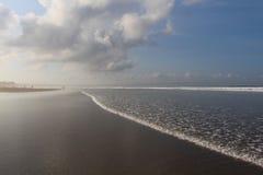 早晨在印度洋 免版税图库摄影