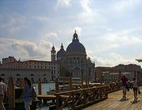 早晨在威尼斯 意大利 库存照片