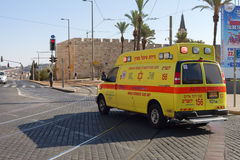 早晨在耶路撒冷 库存图片