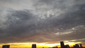 早晨地平线 图库摄影