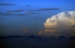 早晨天空 库存图片