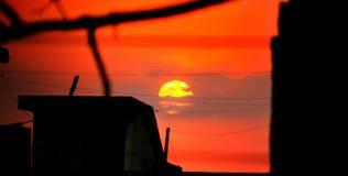 早晨太阳 图库摄影
