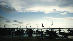 早晨好渔夫 库存图片
