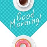 早晨好用咖啡 免版税库存图片