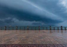 早晨好风暴越南 免版税库存图片