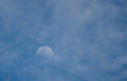 早晨月亮 图库摄影