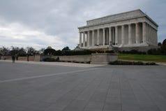 早晨林肯纪念堂 免版税库存图片
