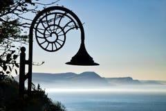 早晨雾|莱姆里杰斯 免版税库存照片