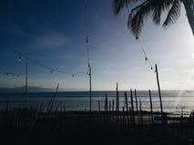 早晨@打包机,极光,菲律宾 免版税库存图片