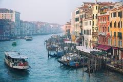 早晨Venezia 库存图片