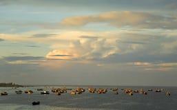早期的捕鱼早晨 免版税库存图片