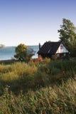 早期的湖早晨端 免版税图库摄影