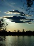 早期的湖春天 库存图片