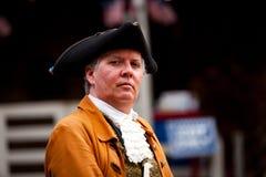 早期的美国殖民在费城 免版税库存图片