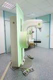 早期胸部肿瘤X射线测定法胸部检查机器 库存照片