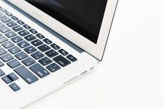 早期苹果计算机MacBook空气2014年 库存照片