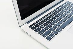 早期苹果计算机MacBook空气2014年 免版税图库摄影