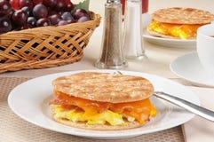 早餐三明治 库存图片