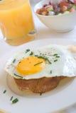 早餐以色列人 免版税库存照片