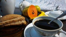 早餐光 库存图片