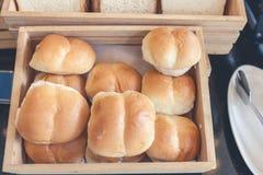 早餐和面包 库存照片