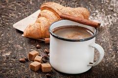 早餐咖啡 库存图片