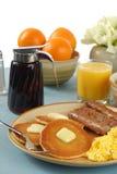 早餐国家(地区) 免版税库存照片