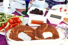 早餐土耳其 图库摄影