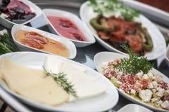 早餐土耳其 免版税库存照片