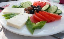早餐土耳其 库存图片