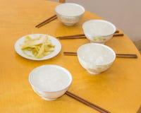 早餐在中国南方 免版税库存图片