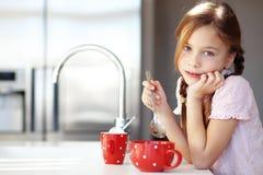 早餐在家 免版税库存照片