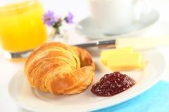 早餐大陆可口 免版税库存照片