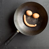 早餐微笑 库存图片
