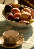 早餐意大利语 免版税库存图片