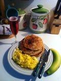 早餐早晨甜点 库存照片