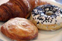 早餐板材 免版税库存照片