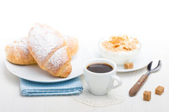 早餐法语 图库摄影