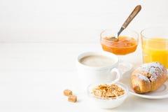 早餐法语 免版税库存图片