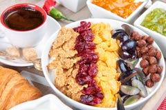早餐法语 免版税图库摄影