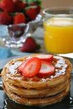 早餐甜点 库存图片