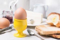 早餐用鸡蛋 库存图片